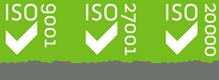 ISO 9001 | ISO 27001
